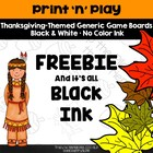Print 'n' Play - Thanksgiving!