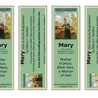 Printable Bookmarks Get to Know Mary