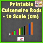 Printable Cuisenaire Rods with Bonus Clipart