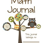 Printable Math Journal