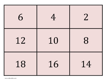 Printable Multiplication Flash Cards with Answers