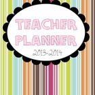 Printable PDF Teacher Planner for Elementary Teachers