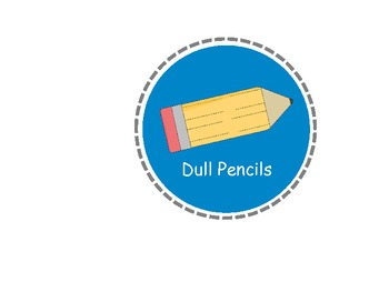 Printable Pencil Labels