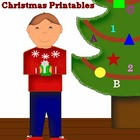 Printable Pre-K's Christmas Collection