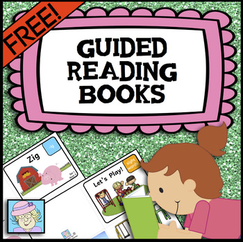 Printable books for Beginning Readers Sample--Set 1 #3