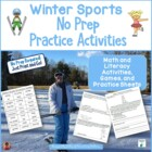 Winter Sports Printables: Not Just for the Sub Tub