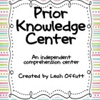 Prior Knowledge Comprehension Center