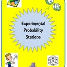 Probability: Experimental and Theoretical Probability Stations