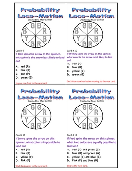 Probability LocoMotion Game
