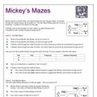Probability Mazes (Sample)