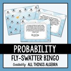 "Probability Review ""Fly-Swatter"" Bingo Game!"