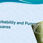 Probability and Punnet Squares