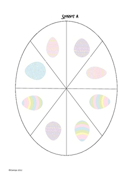 Probability with spinners - Easter edition!