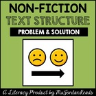 Problem &amp; Solution -- Text Structure Packet