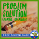 Problem Solution Tree Graphic Organizer