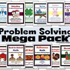 Problem Solving Mega Pack - Seasonal Math Word Problems
