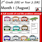 Problem Solving Path - Grade 2/ Year 3 - One Month for Free