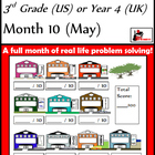 Problem Solving Path - Grade 3/ Year 4 - Month 10