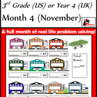 Problem Solving Path - Grade 3/ Year 4 - Month 4