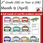 Problem Solving Path - Grade 3/ Year 4 - Month 9