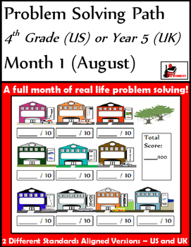 Problem Solving Path - Grade 4/ Year 5 - One Month for Free