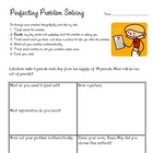 Problem Solving Practice - Multiplication/Division