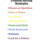 Problem Solving Strategies - Math word &amp; story problems Po