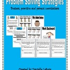 Problem Solving Strategies: Parent Newsletters, Posters and More