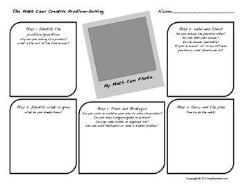"Problem-Solving Using Digital Photography: ""The Math Cam"""
