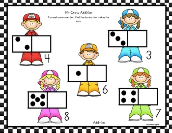 Problem Solving with Dominoes  (addition and subtraction)