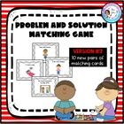 Problem and Solution Matching Game #2