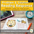 Problem and Solution: Reading Response Flip Book