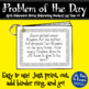 Problem of the Day - April