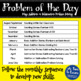 Problem of the Day - May