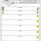 Problem/Solution Graphic Organizer-Treasures 3rd Grade