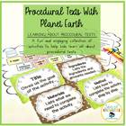 Procedural Texts with Planet Earth! Grades 1-3