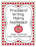 Procedural Writing: Making Applesauce {Sequence of Events