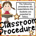 Procedures in the Classroom