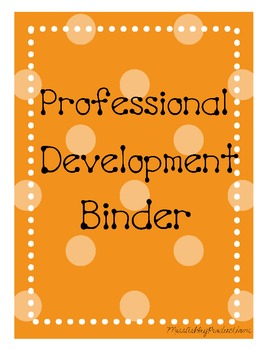 Professional Development Binder Covers