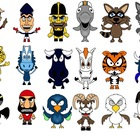 Professional Football Mascots --  Clipart Personal or Comm