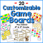 Programmable Game Boards & Suggestions for Use in Gr.4-5 C