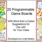 Programmable Game Boards, with Suggestions for Your K-1 Cu
