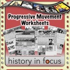 Progressive Movement Worksheets - B/W Version