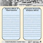 Progressive Movement Worksheets - Color Version