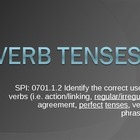 Progressive and Perfect Tenses