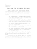 Project on World Religions