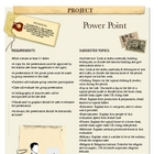 Project: Power Point