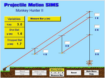 Projectile Motion SIMS - Single License Version