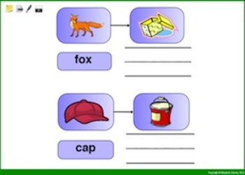 Promethean Lesson: Substituting Beginning and Ending Letters
