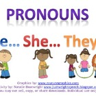 Pronouns: He, She, They